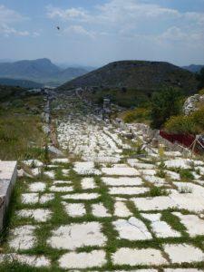 Weg in der antiken Stätte Sagalassos