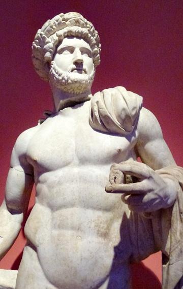 Skulptur im archäologischen Museum Antalya