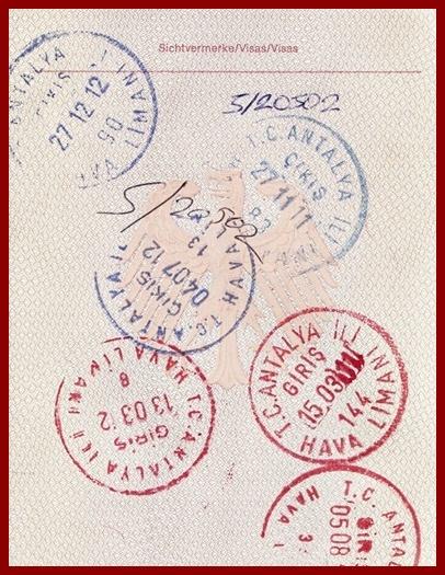 Antalya Einreise Reisepass