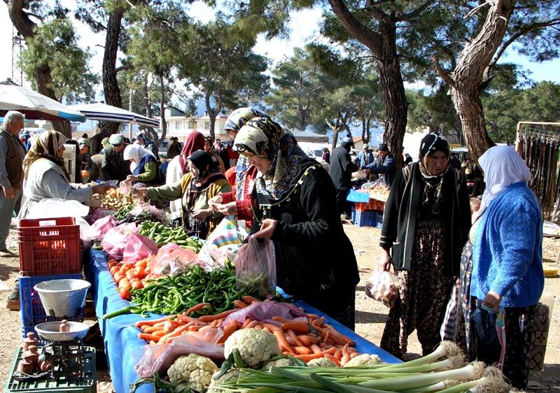 Dorbazar in Nebiler bei Antalya
