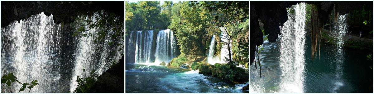 Dueden Wasserfall Antalya, Ansichten