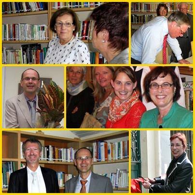 Botschafter, Konsul in der Bücherei Antalya