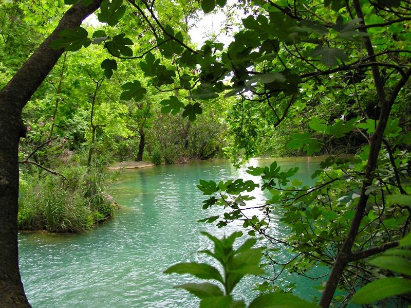 Kursunlu Wasserfall bei Antalya