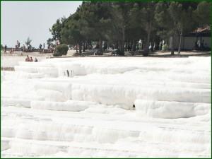 Pamukkale weiße Kalksinterterrassen