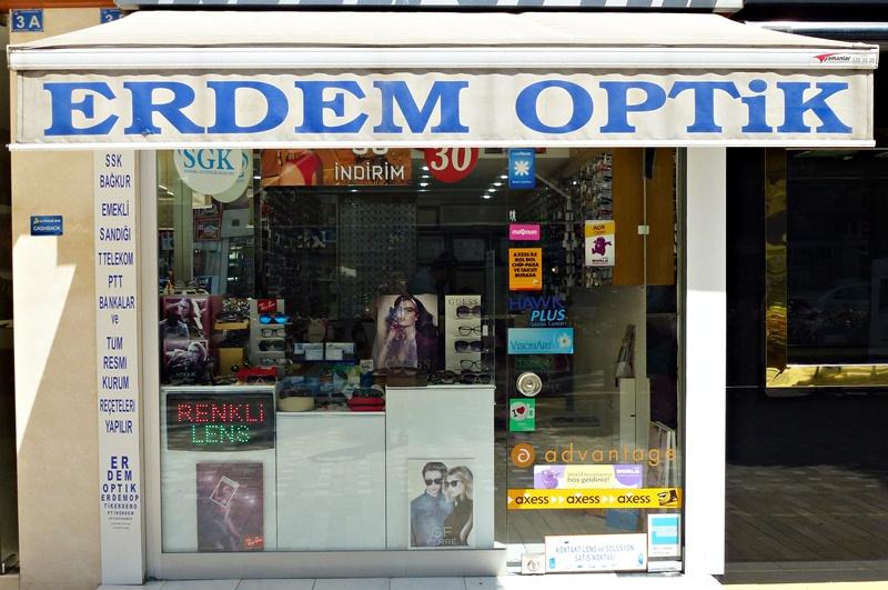 Erdem Optiker, Palmenstrasse, Antalya