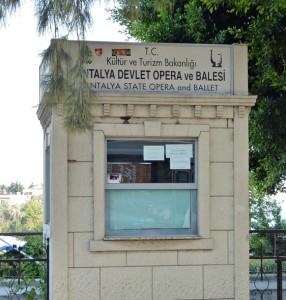 Kartenverkauf Staatliche Oper und Balett, Antalya