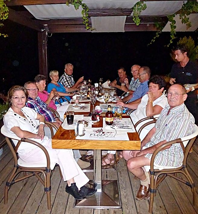 Deutscher Stammtisch an der türkischen Riviera