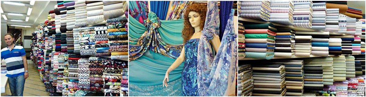 tolle Kleiderstoffe, Vorhänge, Gardinen, Antalya