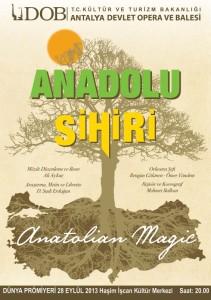 Welturauffuehrung Anatolischer Zauber, Antalya