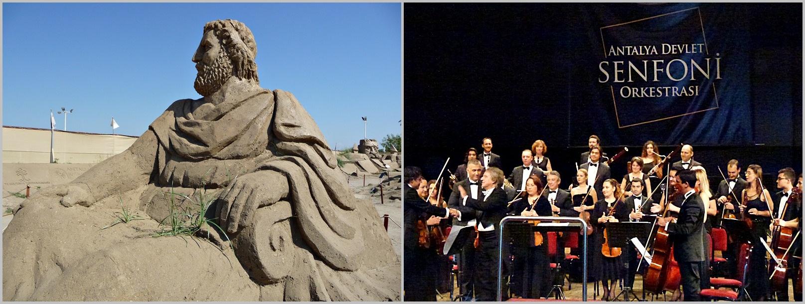 Sandskulpturen-Festival Antalya, Sinfonieorchester Antalya