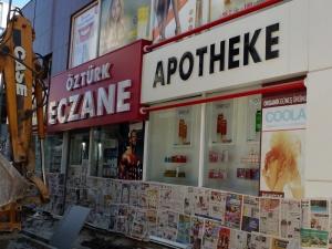 Apotheke im Stadtzentrum von Antalya