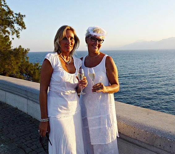 White Dinner Antalya, Karalioglu Park