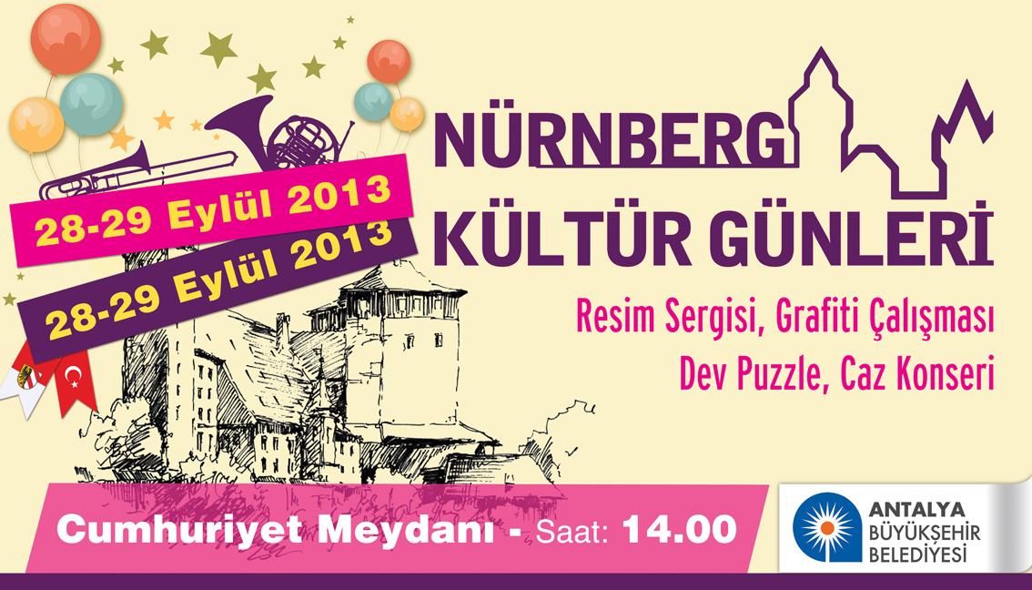 Nuernberger Kulturtage, Antalya, Tuerkei