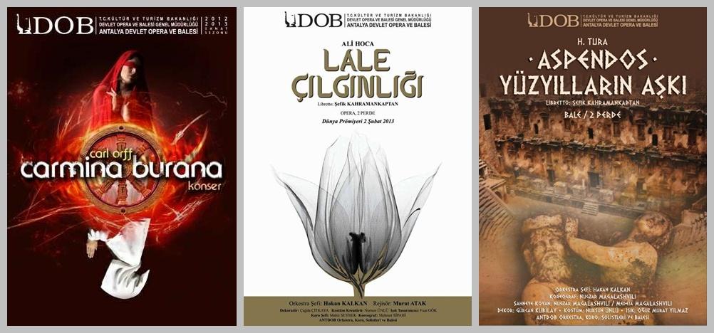 Staatsoper und Ballett Antalya, Programm