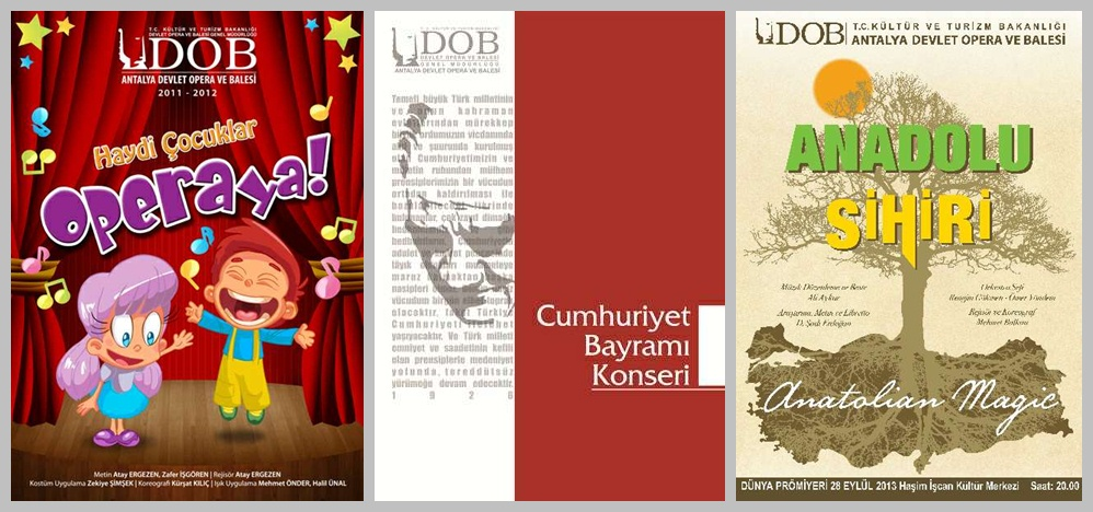 Programm der Staatsoper Antalya